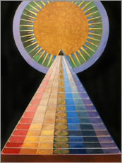 Canvas-taulu  No. 1, Altarpiece - Hilma af Klint