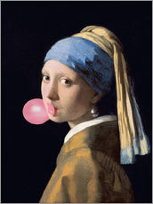 Galleriataulu  The Girl with a Pearl Earring (gum)