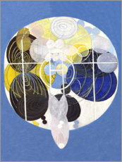 Alumiinitaulu  The Large Figure Paintings, No. 5 - Hilma af Klint