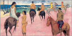 Galleriataulu  Rider on Beach - Paul Gauguin