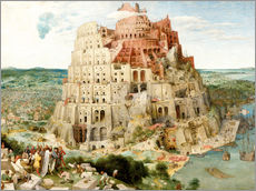 Sisustustarra  The Tower of Babel - Pieter Brueghel d.Ä.