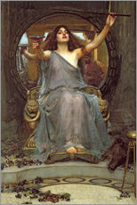 Galleriataulu  Circe Offering the Cup to Ulysses - John William Waterhouse
