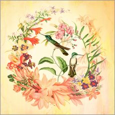 Galleriataulu  Hummingbird II - Mandy Reinmuth