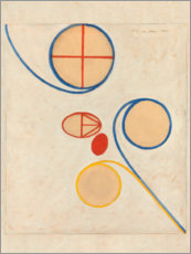 Sisustustarra  The Seven-Pointed Star, No. 2 - Hilma af Klint