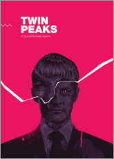 Canvas-taulu  Twin peaks - Fourteenlab