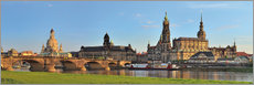 Galleriataulu  Dresden Canaletto view - FineArt Panorama