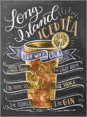 Sisustustarra  Long Island Ice Tea recipe - Lily & Val