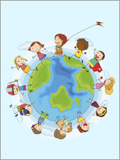Sisustustarra  Children of the world - Kidz Collection