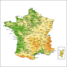 Sisustustarra  Map of France