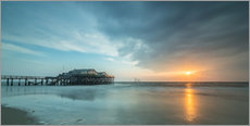 Galleriataulu  Sunset at the beach bar 54Grad in St.Peter-Ording - Heiko Mundel