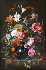 Galleriataulu  Vase of Flowers - Jan Davidsz de Heem