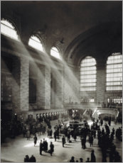Akryylilasitaulu  Holiday Crowd at Grand Central Terminal