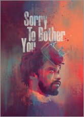 Canvas-taulu  Sorry To Bother You - Fourteenlab