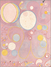 Akryylilasitaulu  The Ten Largest, No. 8, Adulthood - Hilma af Klint