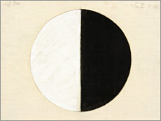 Canvas-taulu  No. 1. Starting Picture, Series II - Hilma af Klint