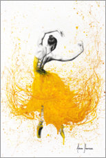 Canvas-taulu  Daisy Yellow Dancer - Ashvin Harrison