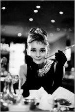 Sisustustarra  Audrey Hepburn aamiaiselle Tiffany'sissa - Celebrity Collection