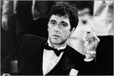 Akryylilasitaulu  Nuori Al Pacino - Celebrity Collection