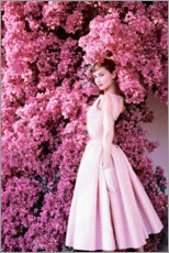 Canvas-taulu  Audrey Hepburn iltapuku - Celebrity Collection