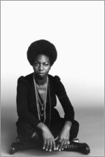 Canvas-taulu  Nina Simone - Celebrity Collection