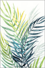 Canvas-taulu  Palm leaves in the evening light II - Grace Popp