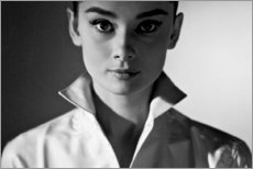 Canvas-taulu  Audrey Hepburn - Celebrity Collection