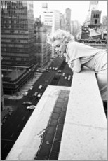 Canvas-taulu  Marilyn Monroe in New York - Celebrity Collection