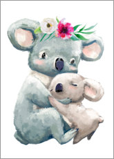 PVC-taulu  Koala mom - Kidz Collection