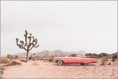 Canvas-taulu  Vintage car in the desert - Sisi And Seb