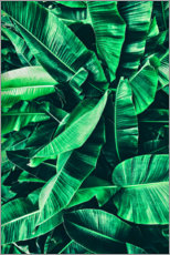 Canvas-taulu  Powerful green - Art Couture