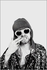 Canvas-taulu  Kurt Cobain - Celebrity Collection
