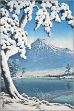Alumiinitaulu  Fuji after the snow in Tagonoura Bay - Kawase Hasui