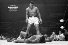 Alumiinitaulu  Boxing legend Mohammed Ali - Celebrity Collection