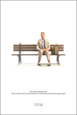 Canvas-taulu  Forrest Gump - Entertainment Collection