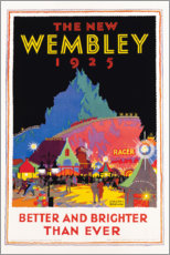 Puutaulu  The new Wembley 1925 (English) - Gregory Brown