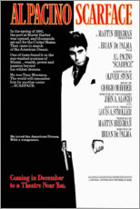PVC-taulu  Scarface - Entertainment Collection