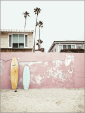 Juliste  Surfboards at the beach house - Sisi And Seb
