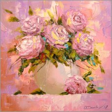 Juliste  Bouquet of roses - Olha Darchuk