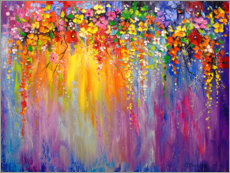 Juliste  Abstract flowers - Olha Darchuk
