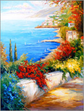 Juliste  Noon by the sea - Olha Darchuk