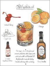 Juliste Classic Cocktail - Old Fashioned