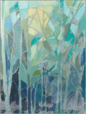 PVC-taulu  Stained Glass Forest II - Grace Popp
