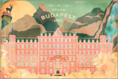 Galleriataulu  The Grand Budapest Hotel - Ella Tjader