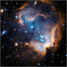 PVC-taulu  Starbirth region NGC 602 - NASA