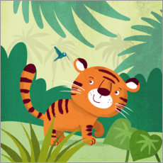 Galleriataulu  Little Tiger 2 - Julia Reyelt