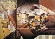 Sisustustarra  Composition with clock - Juan Gris