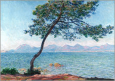 Canvas-taulu  The esterel mountains - Claude Monet