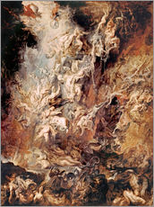 Galleriataulu  The Descent into Hell of the Damned - Peter Paul Rubens