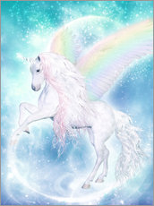 Galleriataulu  Rainbow Unicorn Pegasus - Dolphins DreamDesign