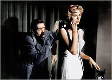 Sisustustarra  Dial M for Murder, from left: Anthony Dawson, Grace Kelly in 1954